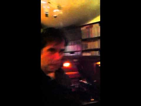 David Copperfield demonstrates his ancient music machine.
