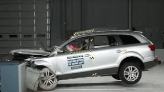 2008 Audi Q7 moderate overlap IIHS crash test