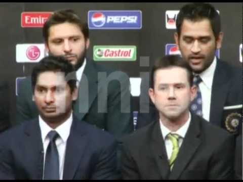 DHONI WELCOME ALL TEAMS FOR WC 2011