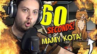 60 SEKUND Z KOTEM 🐈 !?