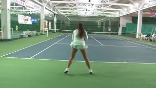Sofia Sharonova - College Tennis Recruiting Video - Fall 2018