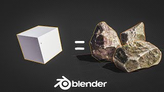 How to Create L๐w Poly Rocks in 1 Minute