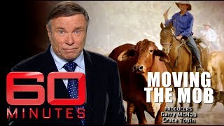 Moving the mob (2014) - The greatest cattle drive in 100 years | 60 Minutes Australia