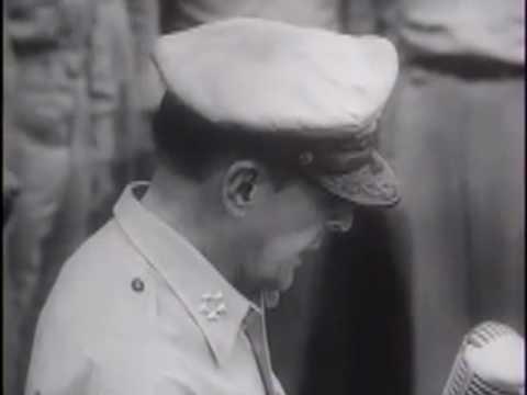 Japanese Sign Final Surrender - 1945