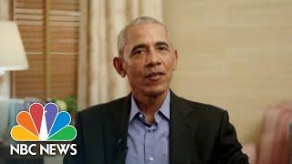 Obama On 'False Narrative' Of 2020 Election, Voter Suppression Efforts