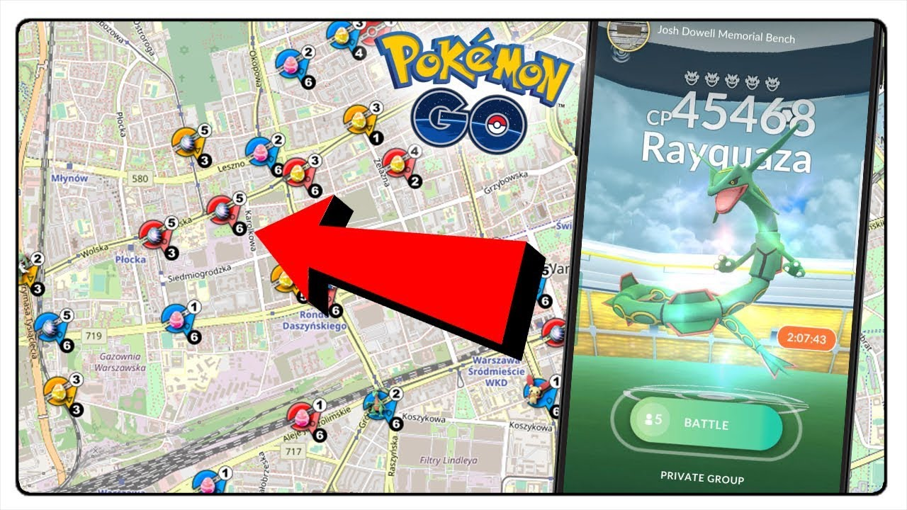WORKING RAID MAP TO POKEMON GO! THE TRUTH ABOUT MAPS AND SCANNERS IN  Pokémon GO