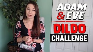 Adam and Eve Dildos Reviews | Huge Suction Cup Realistic Dildos | Adam and Eve Dildo Challenge