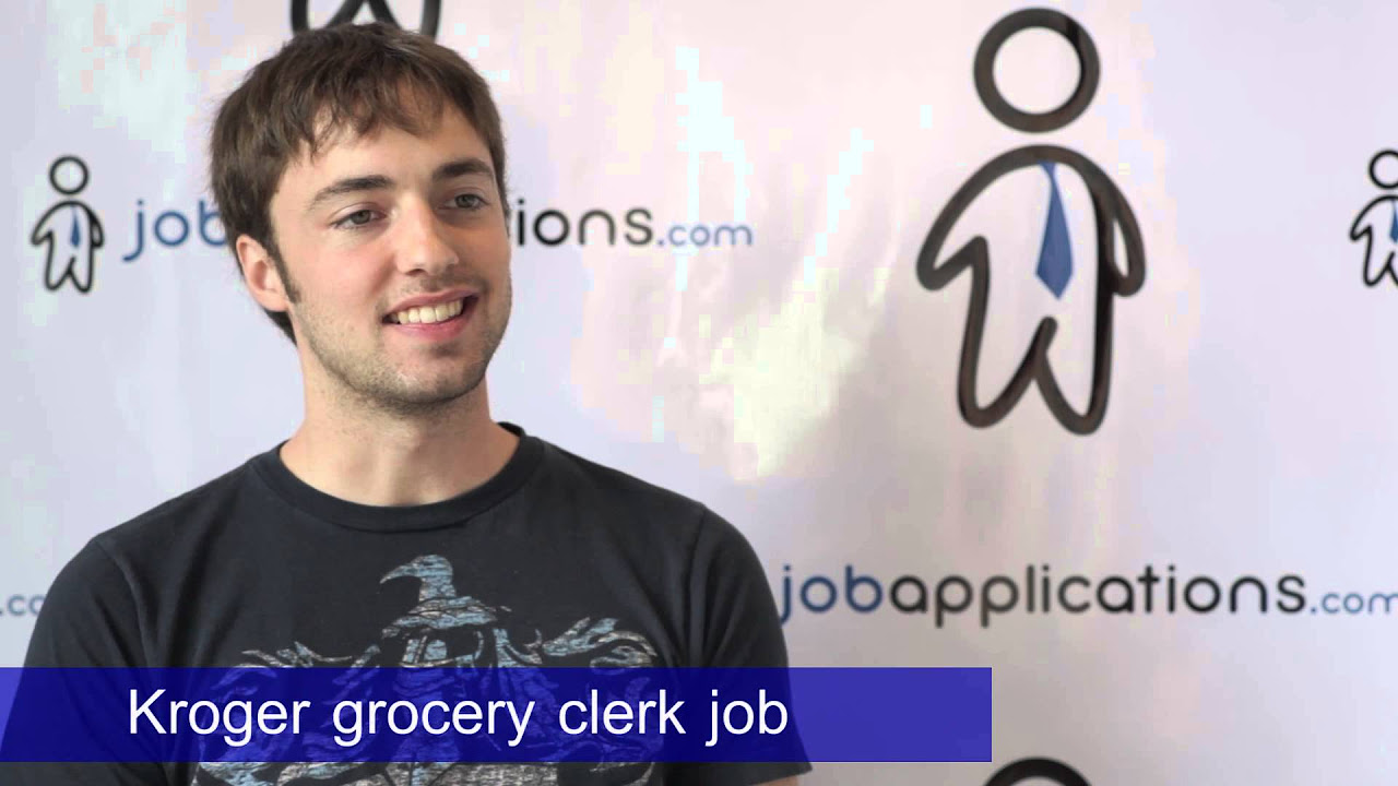 kroger store clerk job description salary