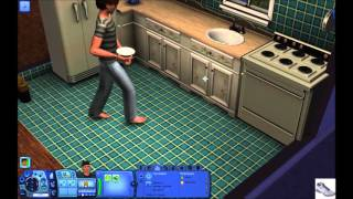 The Sims 3 Lets Play 2: Take a Gardening Class