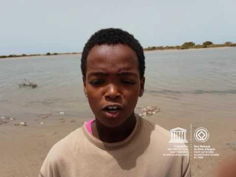 Ahmed #MyOceanPledge Banc d'Arguin National Park World Heritage marine site