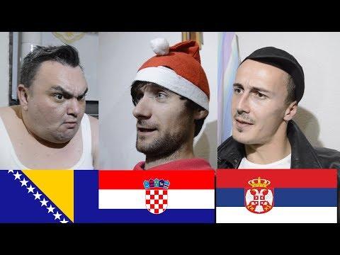BOSANAC, SRBIN i HRVAT slave novu godinu