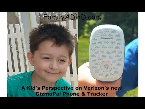 Verizon GizmoPal By LG Kid's Phone & Tracking Device Review - By A Kid!