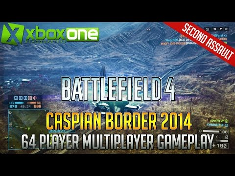 "Battlefield 4 ""Caspian Border 2014"" Multiplayer Gameplay [22-9] XBOX ONE HD 1080p 60fps BF4"
