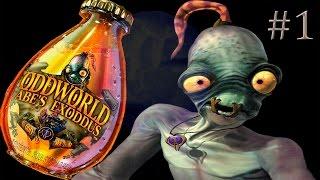 Oddworld: Abe's Exoddus - 1 серия. [Прохождение на русском]