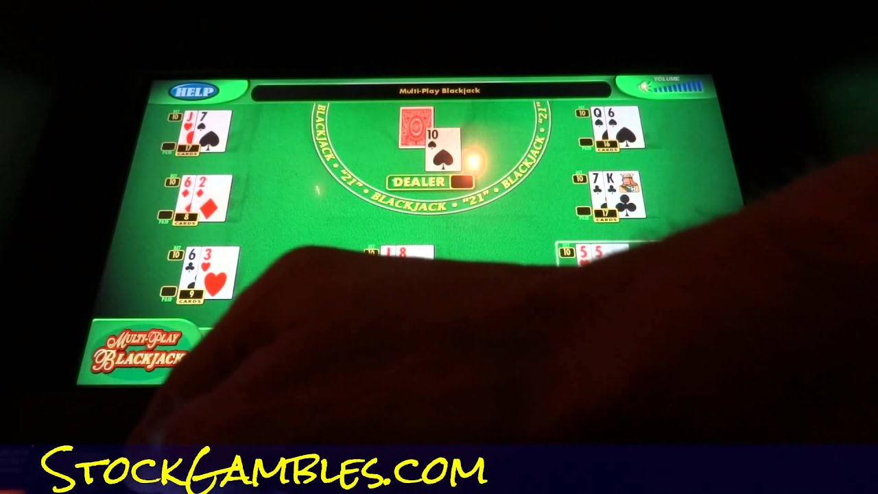 Multi hand blackjack machine best craps tables in las vegas