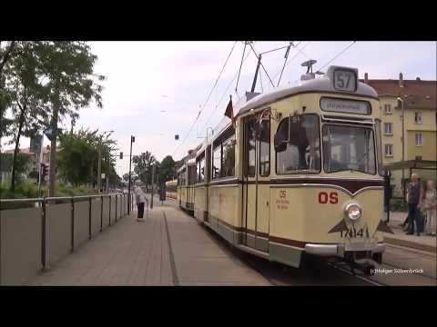 25 Jahre Strassenbahnmuseum Dresden und 50 Jahre Tatra