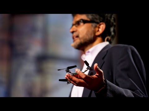 Robots that fly ... and cooperate | Vijay Kumar