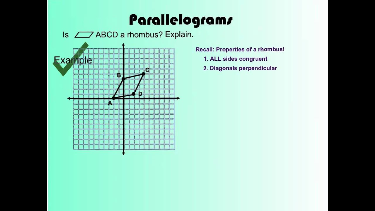 6 7 Polygons In The Coordinate Plane Youtube