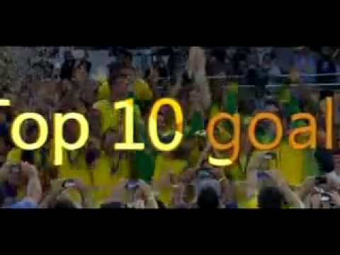 Top 10 goals Confederations Cup 2013