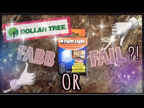 "Dollar Tree ""Bright Light"" Review! fabb or FAIL?"