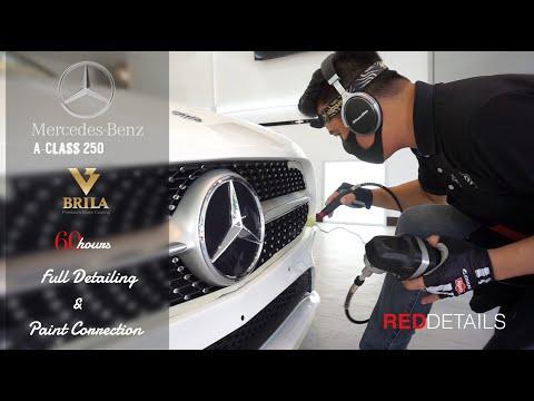 "Mercedes Benz A250  "" Polar White "" BRILA COATING "" Full Detailing & Paint Correction"