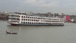 পারাবত গ্রুপের পুরাতন হিরো এখন সম্পূর্ন আধুনিক রুপে দেখুন লঞ্চটি।।Big Launch Video