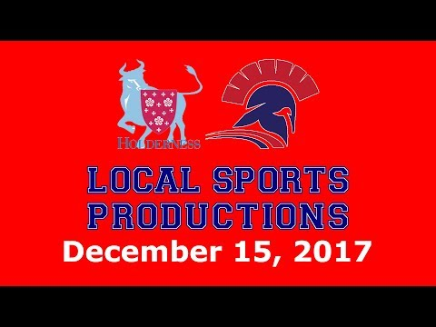 NEPSAC Boys' Hockey on LSP - Holderness Bulls @ Lawrence Academy Spartans, 12.15.2017