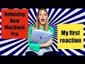 Unboxing my New 2018 MacBook Pro with Touch Bar || First Reaction to 13 inch Laptop || Harley Loper