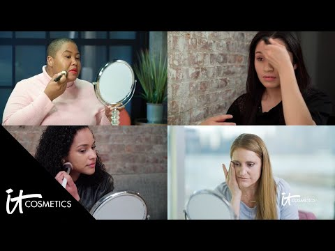 Real Women try Bye Bye Foundation for the First Time | IT Cosmetics