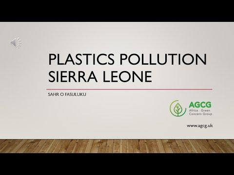 Plastic pollution in Sierra Leone