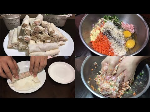 How to Cook Lumpiang Shanghai (Filipino Style)