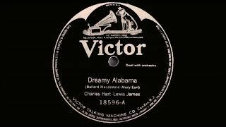 Charles Hart & Lewis James - Dreamy Alabama (1919)