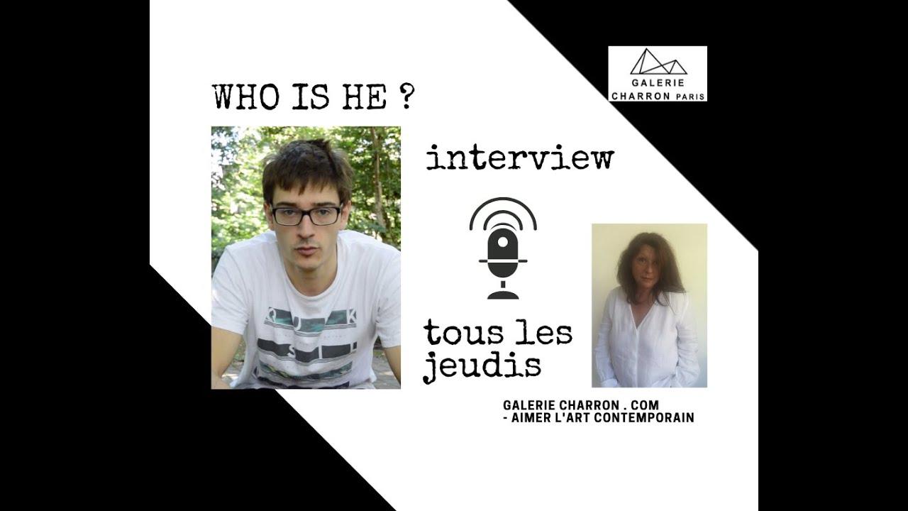 Jules Andrieu - Portrait d'artiste #4