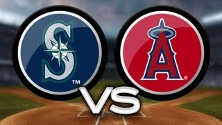 5/21/13 Trout's first career cycle leads Halos to win