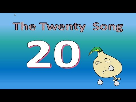 The number bonds to twenty song for children