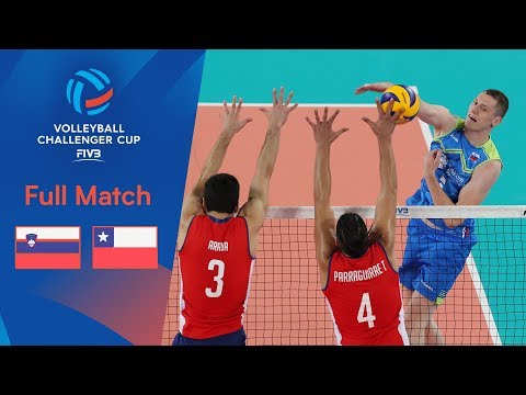 SLOVENIA Vs CHILE | 2019 FIVB Men's Volleyball Challenger Cup