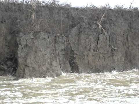 Example of bank failure- Wabash River Cutoff