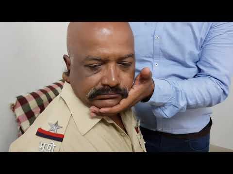 Chiropractic on Maharashtra police in solapur camp   india Dr. Rajneesh kant