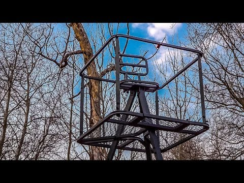 13 Foot Tripod Stand By Guide Gear Honeybee Swarm Trap Support Hunting Stand