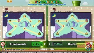 thugkj vs Dinobonoide - Losers 4ª Fase - Torneio SMW 11 Exit, No Cape BR
