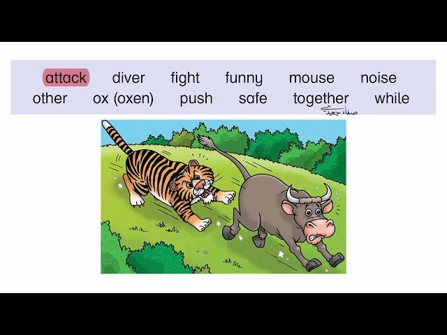 مفردات صفحة 28 الصف السادس