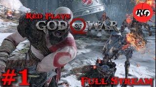 Red Plays - God of War (Full Stream)