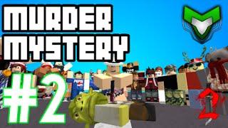 Murder Mystery 2 ROBLOX Ep.2 w/Ethan&Mason