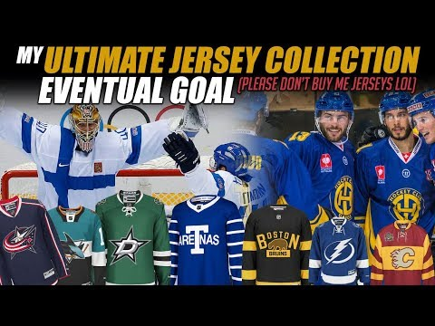 My Ultimate Jersey Collection Eventual Goal