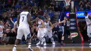 Los Angeles Clippers vs Minnesota Timberwolves | Game Highlights | 3.8.17 | 16-17 NBA Season