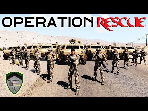 « Operation Rescue » [1/2] - ArmA 3 (Bundeswehr-Mod) #3 - 1.
