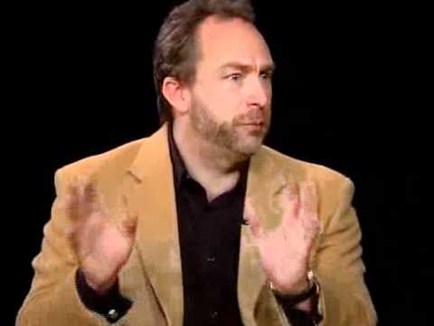Charlie Rose interviews Jimmy Wales
