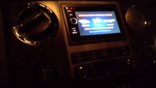 ford f250 with tracvision satellite system