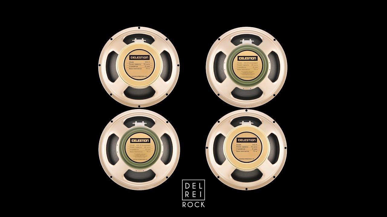 Celestion Greenback & Creamback 75 Mixed Together