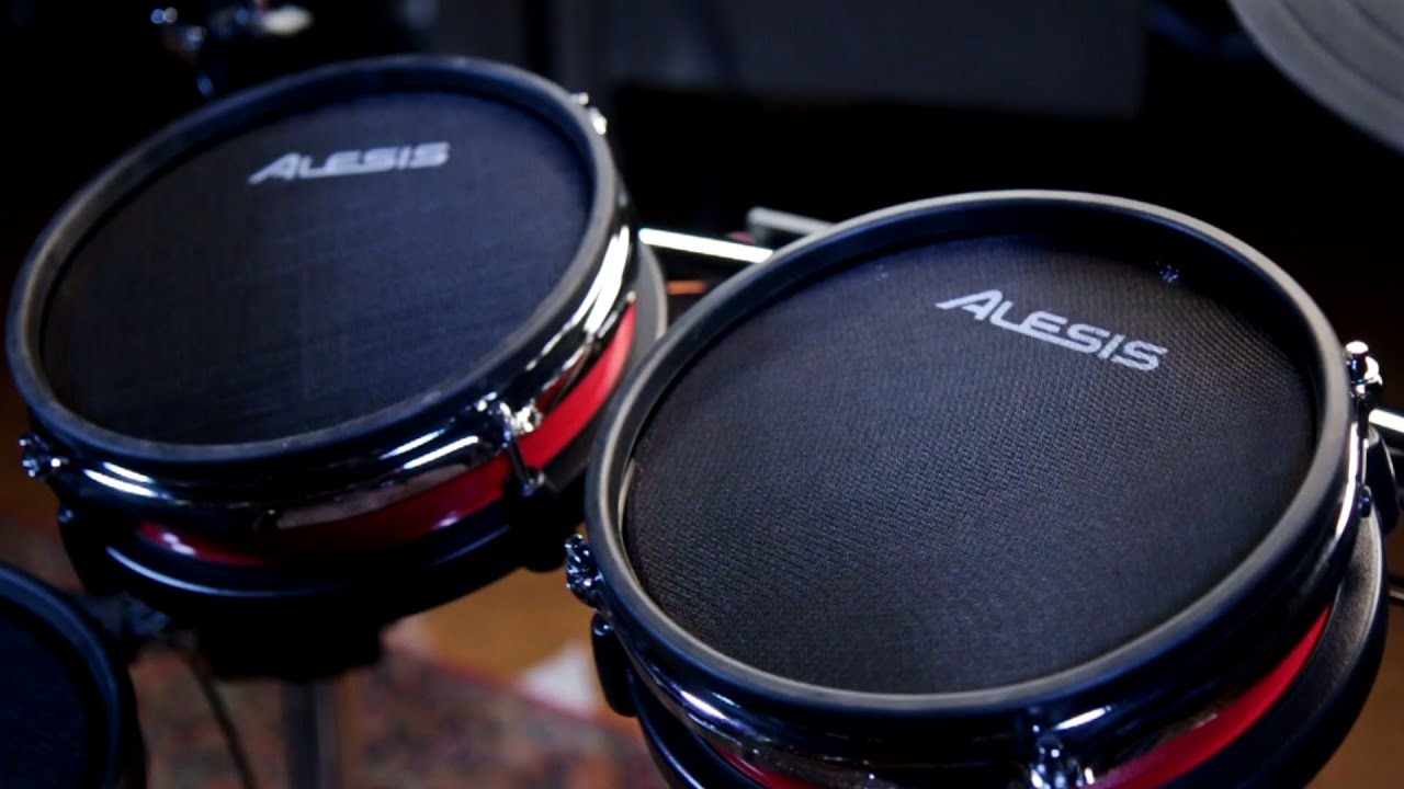 Alesis crimson electronic drum kit youtube alesis crimson electronic drum kit solutioingenieria Images